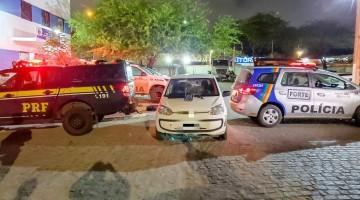 Homem é detido com arma e bloqueador de sinal de caminhão em Caruaru