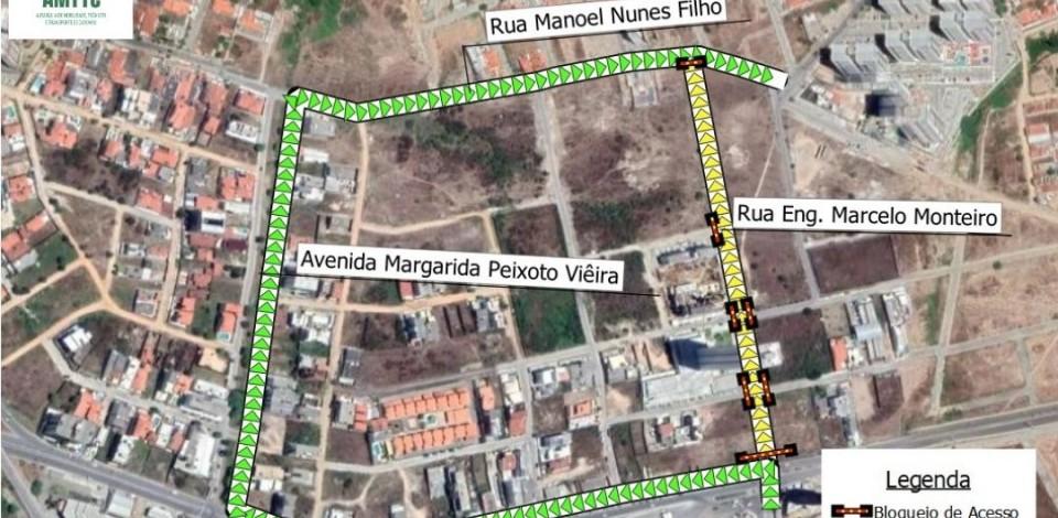 Rua Engenheiro Marcelo Monteiro, em Caruaru, é interditada