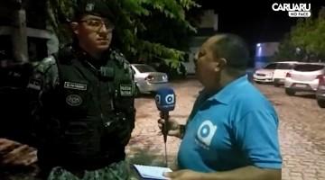 Policiais prendem suspeitos de assalto em Caruaru