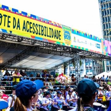 Mais acessibilidade no Carnaval do Recife