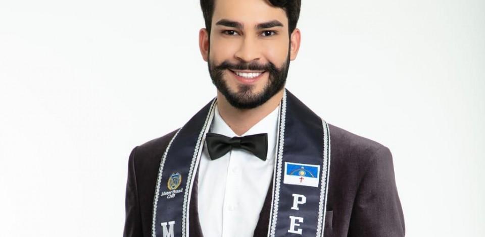 Caruaruense disputa Mister Brasil CNB 2020