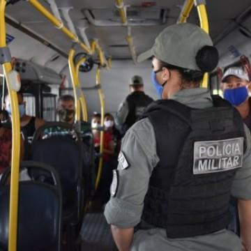 Polícia Militar e Grande Recife reforçam fiscalizações nos ônibus e pontos de bloqueios