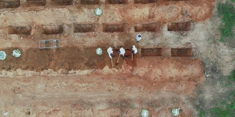A data escolhida foi dia 25 de março, dia em que a primeira morte pela covid-19 foi confirmada no Estado