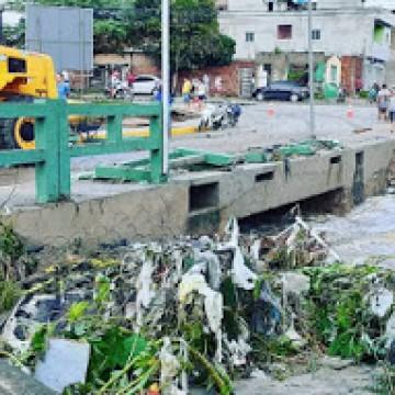Panorama CBN: Toneladas de lixo retirados dos canais após chuvas em Caruaru