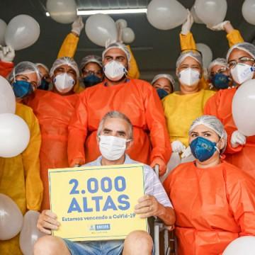 Hospitais de campanha do Recife chegam à marca de 2 mil pessoas curadas