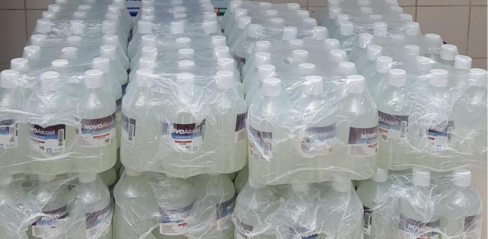 Polícia Civil apreende frascos de álcool em gel falsificados em Belo Jardim