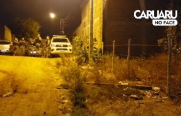 Homem é assassinado no Loteamento Boa Vista em Caruaru