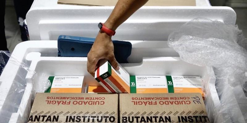 Desde o início da campanha de vacinação, Pernambuco já recebeu mais de 5.800 milhões doses de imunizantes