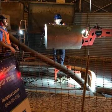 Mais de 995 toneladas de lixo foram retiradas da rede de esgoto do Recife