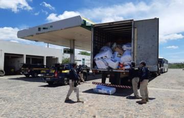 Carga roubada de loja de varejo é recuperada na BR-232 em Pesqueira