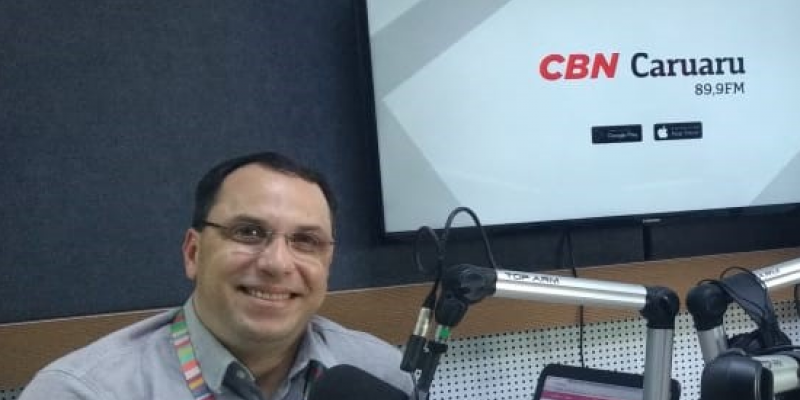 Vários assuntos foram esclarecidos na sua revista eletrônica na CBN Caruaru