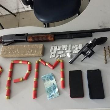 Homens são presos por tráfico de drogas em Caruaru