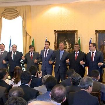 Governadores do Nordeste se reúnem para lançamento de consórcio