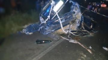 Acidente envolvendo três veículos deixa um homem morto na BR 232 em Belo Jardim
