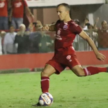 Autor do pênalti do acesso, Matheus Carvalho tem lesão grave confirmada
