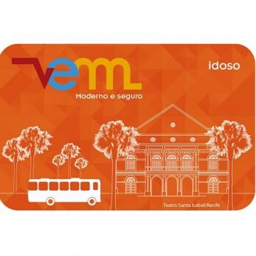 Idosos terão cartão VEM próprio no transporte público da RMR