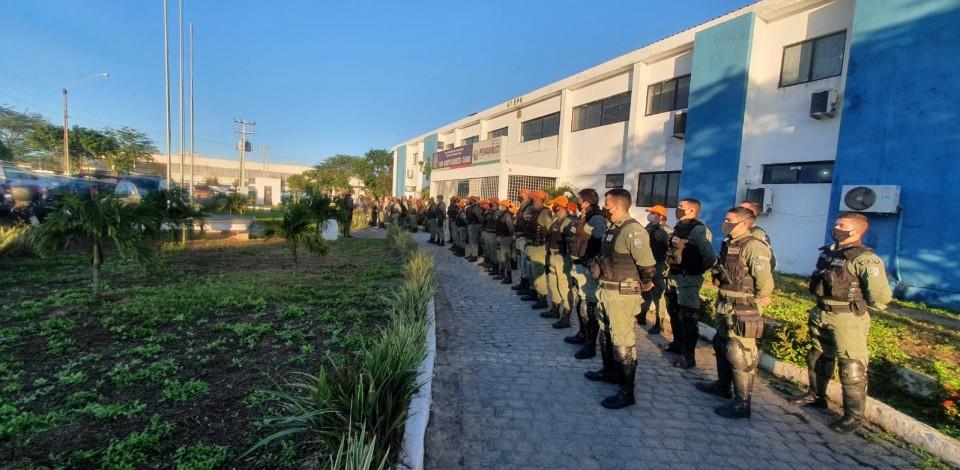 Polícia desencadeia Operação Coalizão no Parque 18 de Maio em Caruaru
