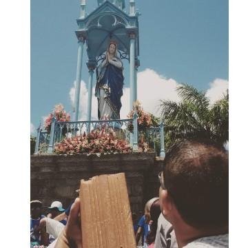 Fiéis acompanham celebrações no dia de Nossa Senhora da Conceição