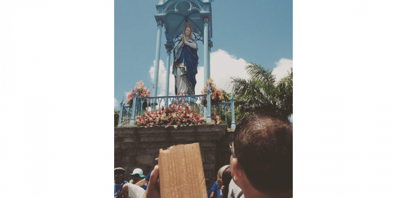 Gente de todas as partes de Pernambuco e até de outros estados, foi ao Morro da Conceição, para agradecer e pedir proteção.