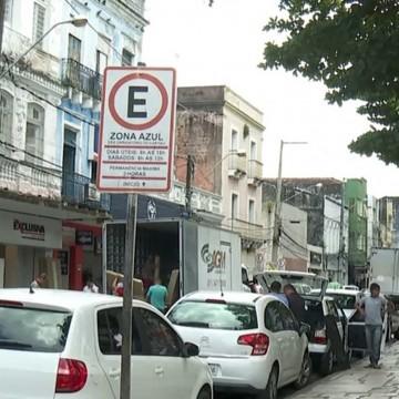 Novas vagas do zona azul são disponibilizadas no Recife