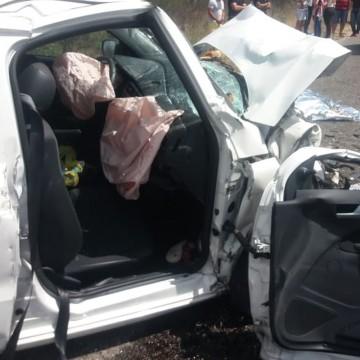 Quatro pessoas morrem em acidente no Agreste do estado