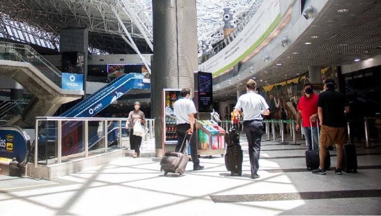 Movimentação no aeoporto do Recife aumenta 37,5% em setembro