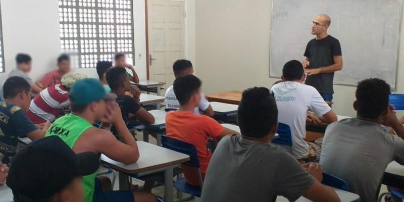 O objetivo é trabalhar temáticas na área de construção civil, a segunda mais demandada por jovens em cumprimento de medida socioeducativa em Pernambuco.