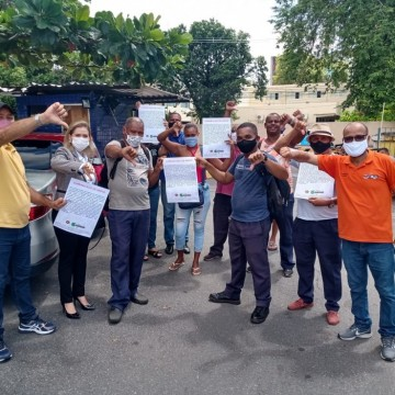 Terceirizados de portarias de hospitais públicos declaram greve por atraso de salário e benefícios