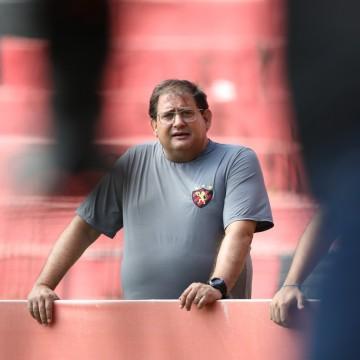 Guto Ferreira elogia postura do Sport em amistoso contra o CSA