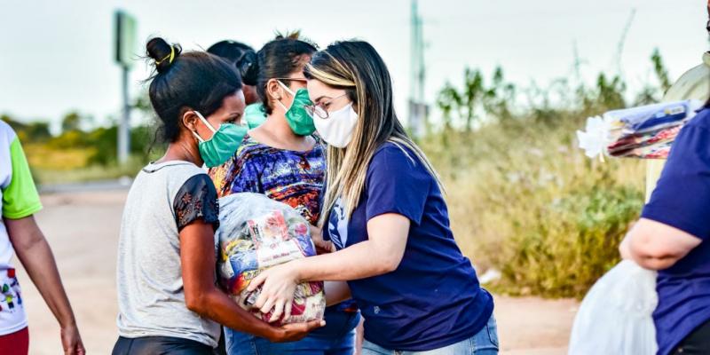 O projeto inovou durante o São João para seguir ajudando as famílias