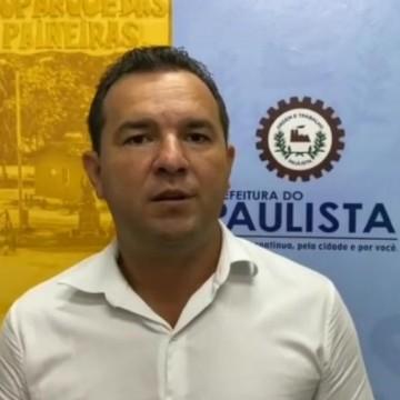 Câmara de Paulista recebe pedido de impeachment de Júnior Matuto