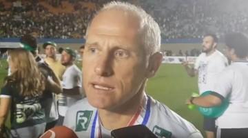 Sílvio Criciúma é o novo técnico do Central