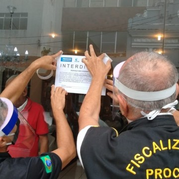 Procon fecha 671 estabelecimentos durante lockdown na RMR