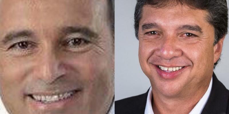 O prefeito de Itamaracá Mosar Tato (PSB) e o deputado estadual Guilherme Uchôa Júnior (PSC) estão sendo investigados, juntamente dos seus familiares