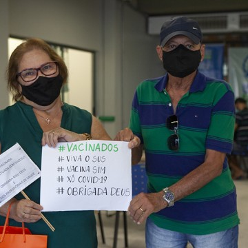 Pernambuco aplica mais de 1 milhão de doses da vacina contra a Covid-19