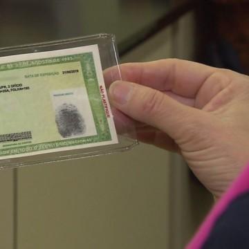 Retirada de carteiras de identidade novas exige agendamento