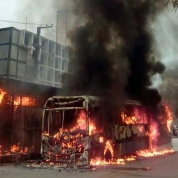 Comissão é instaurada para investigar últimos incêndios nos ônibus do Recife