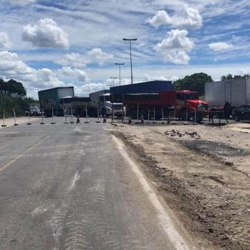 Obra interdita trecho da BR-101 e altera linhas de ônibus próximas da UFPE