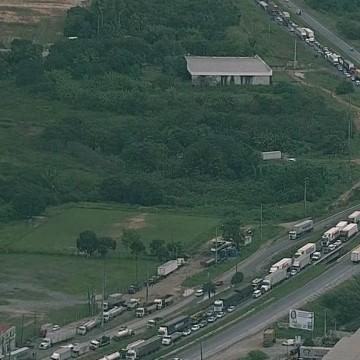 Liberado tráfego em trecho do viaduto da BR-101, em Jaboatão dos Guararapes