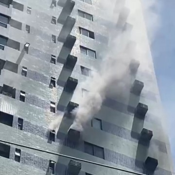 Incêndio atinge apartamento na Zona Norte do Recife