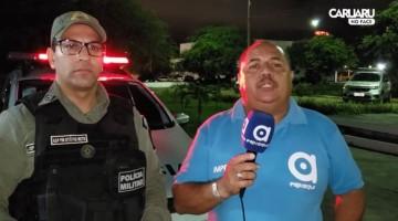 Polícia Militar prendeu dois homens suspeitos de tráfico de drogas em Caruaru