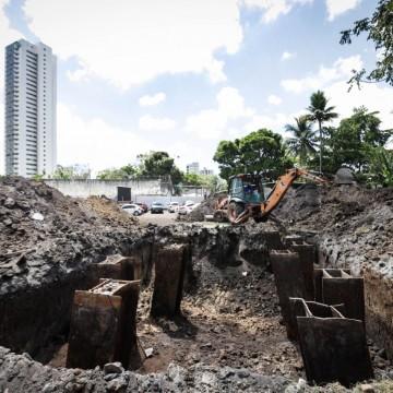 Moradores que moram na área a ser desocupada perto da Ponte do Monteiro no Recife serão transferidos para habitacional