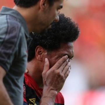 Sport perde Hernane pro resto da Série B, e terá vários desfalques contra o Botafogo/SP
