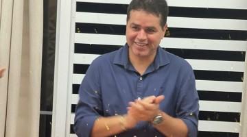 Os parabéns do empresário Wellington Lima