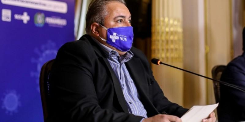 André Longo, anunciou que o Estado registrou a terceira semana seguida com aumento de casos da Síndrome Respiratória Aguda Grave (Srag), que caracteriza suspeita da Covid-19