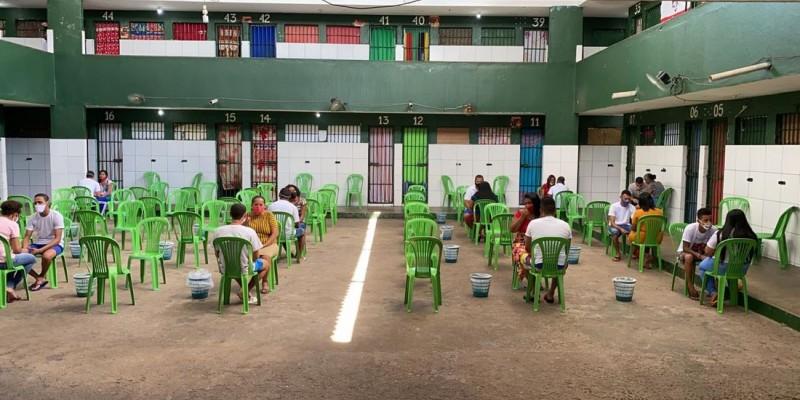 Os protocolos sanitários estão garantidos de acordo com a Secretaria de Justiça e Direitos Humanos do Estado.