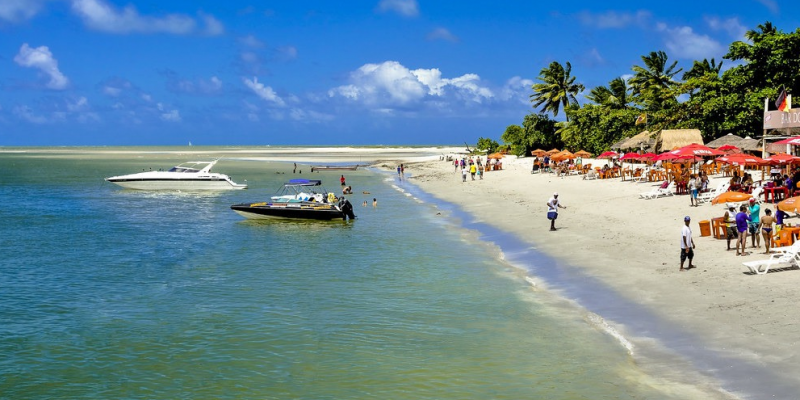 Turismo em Pernambuco ainda não alcançou a recuperação das perdas de 2020.
