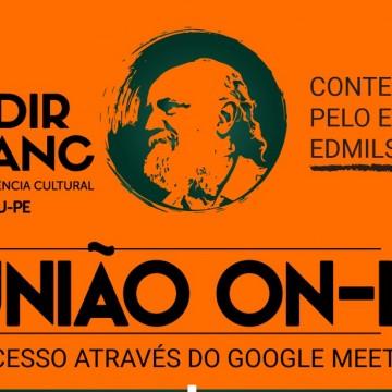 Caruaru realiza reuniões virtuais com contemplados no edital Edmilson do Pífano
