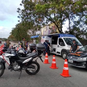 Operação Lei Seca alerta sobre acidentes no trânsito