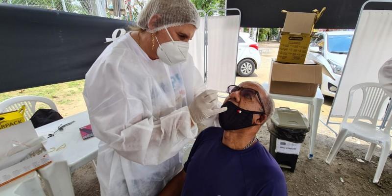 A iniciativa é possível através do programa Testa PE do Governo de Pernambuco